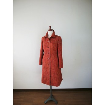 g様リクエスト作品 紬のコートCT-19 着物リメイク
