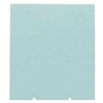 名入れペンスタンドメモ帳 100枚再生紙 B/ライトブルー PM-022 名入れOK(別料金)