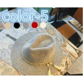 レディース帽子 ハット 麦わら タッセル UVカット 紫外線対策 日よけ ファッション ハイセンス アウトドア 着心地いい 夏 レディース帽子
