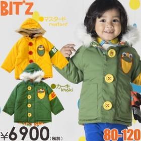 セール bitz(ビッツ)リバーシブルモッズコート(子供服/アウター/防寒)(秋冬物セール)