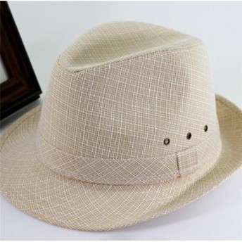 メンズ帽子 UVカット 紫外線対策 シンプル つば広 ハット ハイセンス 日よけ ファッション アウトドア 着心地いい セール 夏 メンズ帽子