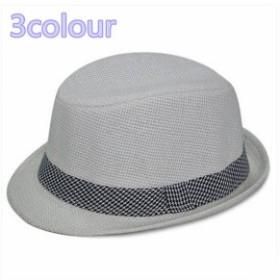 メンズ帽子 UVカット 紫外線対策 ファッション 麦わら チェック柄 つば広さ 日よけ 海 アウトドア 着心地いい セール 夏 メンズ帽子
