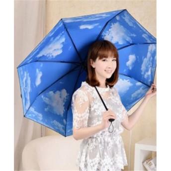 傘 対比色 レディース ファッション 晴雨兼用 超軽量 折りたたみ傘 遮光 防風 レディース 日傘 雨傘 黒膠 日焼け防止 UVカット 傘