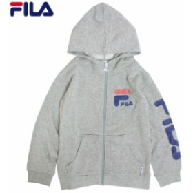 FILA フィラ パーカー 男の子 子供服 キッズ ジュニア フルジップ 裏起毛 スウェット 130cm 140cm 150cm 160cm