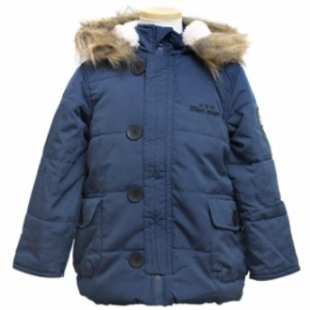 ジャンパー 子供 キッズ 男の子 中綿 コート ジャケット アウター 100cm 110cm 120cm 130cm 全2色