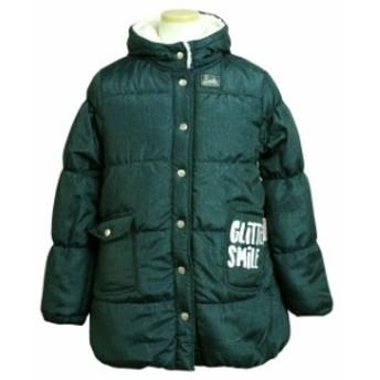 ジャンパー 子供 ジュニア キッズ 女の子 中綿 コート 裏ボア ジャケット アウター 140cm 150cm 160cm 全2色