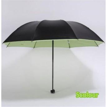 傘 レディース ファッション キャンディカラー 超軽量 三折りたたみ傘 遮光 防風 レディース 日傘 雨傘 黒膠 日焼け防止 UVカット