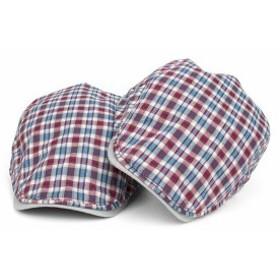 メンズ帽子 UVカット 紫外線対策 チェック柄 キャスケット マッチングしやすい 日よけ 海/旅行 アウトドア 着心地いい セール メンズ帽子