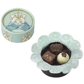 バレンタイン VALENTINE チョコレート 2019 メリーチョコレート マ プティット ミネット ミネットクロンヌ(ブルー) 3個入 義理 チョコ