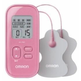 オムロン 低周波治療器 B/ピンク HV-F021-PK