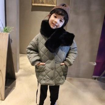 韓国子供服キルティングジャンパー90cm~130cm SC15