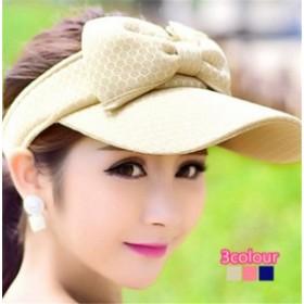レディース帽子 UVカット 紫外線対策 つば広 シンプル リボン ファッション 日よけ ハイセンス アウトドア 着心地いい レディース帽子