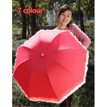 傘 スクール レディース ファッション 晴雨兼用 超軽量 折りたたみ傘 遮光 防風 レディース 日傘 雨傘 日焼け防止 プリンセス風 傘