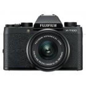 【新品/在庫あり】FUJIFILM X-T100 レンズキット ブラック