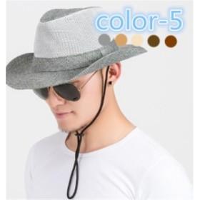 メンズ帽子 UVカット 紫外線対策 つば広 通気 レジャー マッチングしやすい 日よけ 海/旅行 アウトドア 着心地いい セール メンズ帽子
