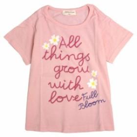 Tシャツ 子供 キッズ 女の子 プリント 半袖 ガールズ 半そでTシャツ かわいいデザインの入った