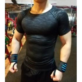 加圧シャツ 半袖 加圧インナー スポーツウェア フィットネス 姿勢矯正 筋トレ 補正下着 猫背矯正