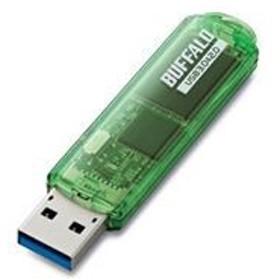 (まとめ) BUFFALO バッファロー USBメモリ USB3.0対応「ライトプロテクト機能」搭載モデル RUF3-C8GA-