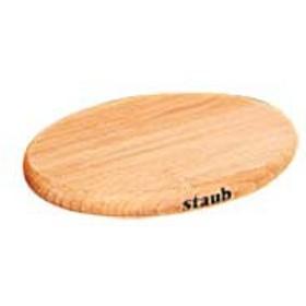 ストウブ 木製マグネットオーバルトリベット 15cm 40509-516
