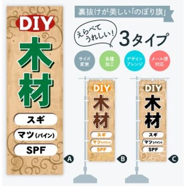 のぼり旗 DIY