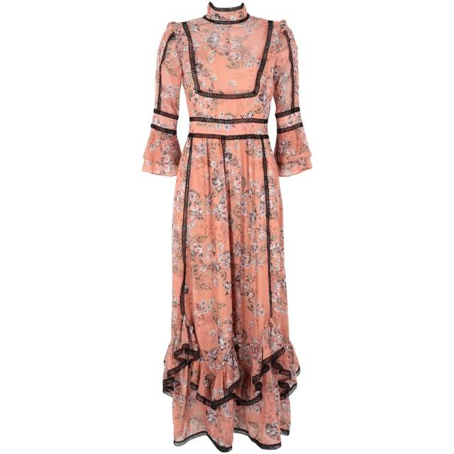 《期間限定セール開催中!》WE ARE KINDRED レディース ロングワンピース&ドレス あんず色 10 ポリエステル 100% SABINE DETAIL HEM MAXI DRESS