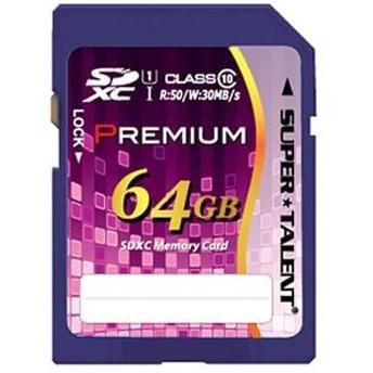 スーパータレントUHS-I対応SDXCメモリーカード CLASS10 64GB ST64SU1P 1枚
