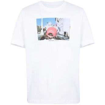 《期間限定セール開催中!》ADIDAS ORIGINALS メンズ T シャツ ホワイト S コットン 100% MARTN PARR TEE