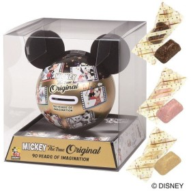 バレンタイン VALENTINE チョコレート 2019 ディズニー ミッキーマウス 90th 貯金缶チョコセット(90周年) 本命 チョコ
