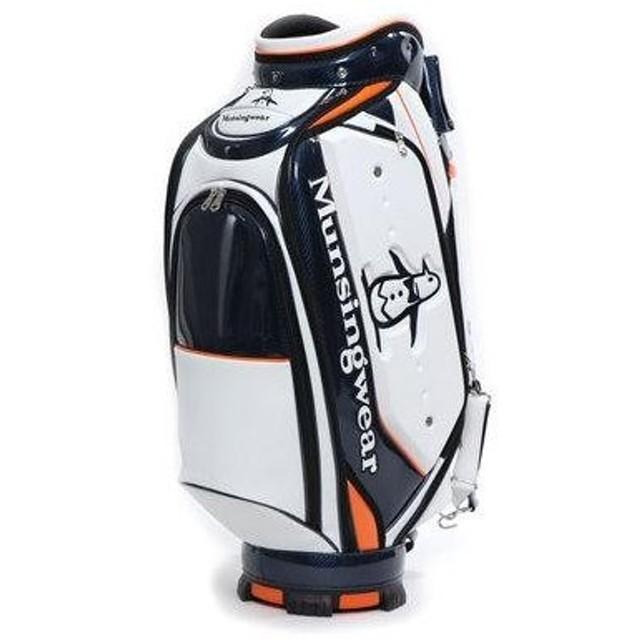 【大型商品200】マンシングウエア Munsingwear メンズ ゴルフ キャディバッグ キヤデイバツグ MQBNJJ00