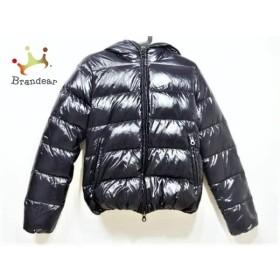 デュベティカ ダウンジャケット サイズ42 M レディース THIACINQUE ダークネイビー 冬物        値下げ 20191010