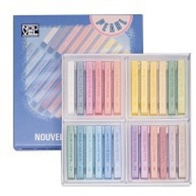 NOUVEL CARRE PASTEL ヌーベルカレーパステル 24色パールセット NCT-24P 424635