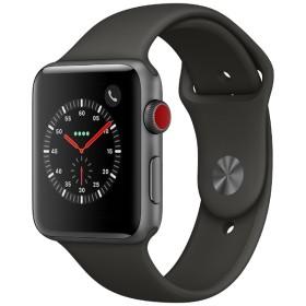 Apple Watch Series 3(GPS + Cellularモデル) 42mm スペースグレイアルミニウムケースとグレイスポーツバンド MR302J/A