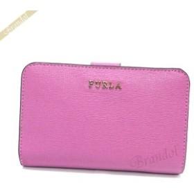 dde5f8f2a978 フルラ FURLA レディース 二つ折り財布 バビロン レザー パープル系ピンク PR85 B30 WSF / 992614