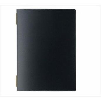 えいむ カーボンタッチ メニューブック GB-111 ブラック 【 カフェメニュー表飲食店メニューブ