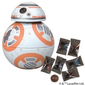 【遅れてごめんね!ホワイトデー】 チョコ スター・ウォーズ BB-8缶 【3月15日以降順次発送】