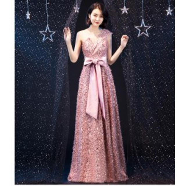 大人気 ロングドレス お呼ばれドレス リボン付き 花嫁ドレス ウェディングドレス 二次会 大きいサイズ 披露宴 司会者 撮影用