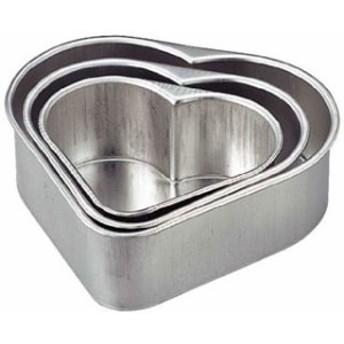 【 ブリキプレスハートデコ型 小々 】 【 厨房器具 製菓道具 おしゃれ 飲食店 】【 バレンタイ