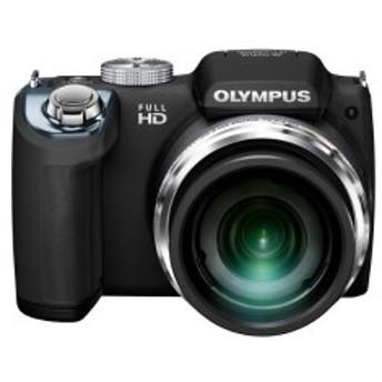 OLYMPUS デジタルカメラ SP-720UZ 1400万画素CMOS 光学26倍ズーム 広角26mm ブラック SP-720UZ BLK 中古 良品