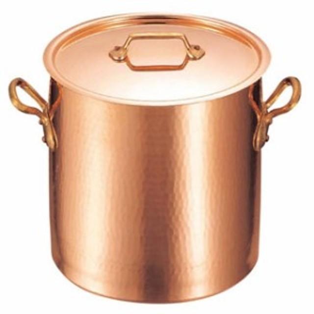 ムヴィエール 銅 寸胴鍋(蓋付)2148-32 32cm【 ガス専用鍋 】