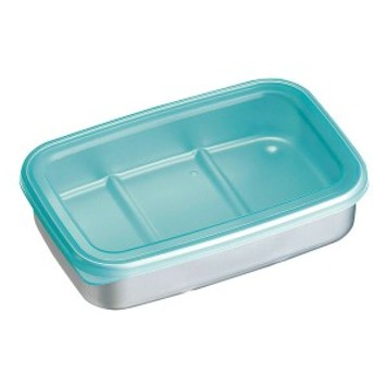アルミ急速冷凍保存容器 M ブルー