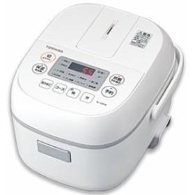 東芝 RC-5MFM-W(ホワイト) ジャー炊飯器 3合