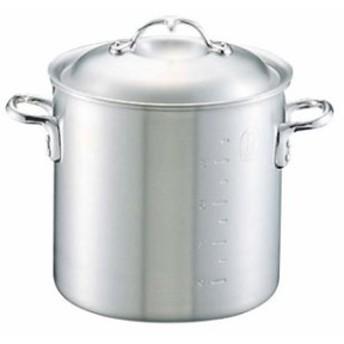 ニューキング アルミ 寸胴鍋(目盛付)33cm【 ガス専用鍋 】