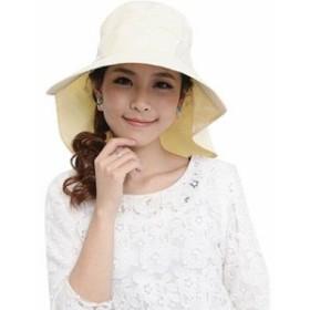 つば広 帽子 UV対策 レディース帽子 リボン 熱中症 日焼け対策 UV対策 紫外線対策