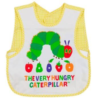 袖なしエプロン はらぺこあおむし 育児用品 お食事用品 エプロン (99)