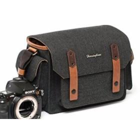 ヘリンボーンカメラバック Herringboneパパスポケットシーズン3 一眼レフ ミラーレス カメラバック ショルダー形 高級感 DSLR ディジ