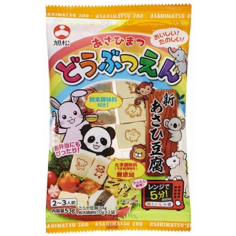 キッズ ベビー 新あさひ豆腐 どうぶつえん 無添加だし付 食品 ベビーフード・キッズフード キッズフード (68)