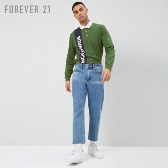 FOREVER21 フォーエバー21 【[MEN]Worldwideコットンポロシャツ】(5,000円以上購入で送料無料)