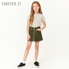 FOREVER21 フォーエバー21 【[KIDS]レインボーTシャツ】(5,000円以上購入で送料無料)