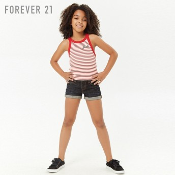 FOREVER21 フォーエバー21 【[KIDS]Girlsボーダータンクトップ】(5,000円以上購入で送料無料)