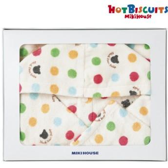 ミキハウス ホットビスケッツ バスローブ 40-9991-567 お祝いギフト 出産・お誕生日お祝いギフト ミキハウスギフトセット (16)